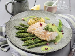 Kikkererwten met gebakken knolselderij en broccoli