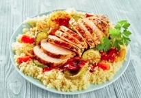 Quinoa met verse groenten