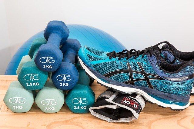 Sport en afvallen