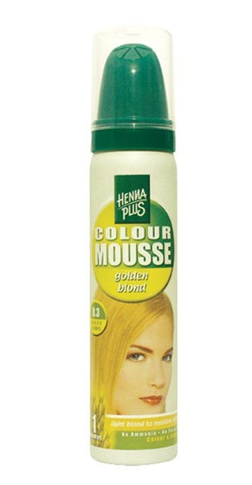 Hennaplus Colour Mousse Golden Blond 8.3 kopen
