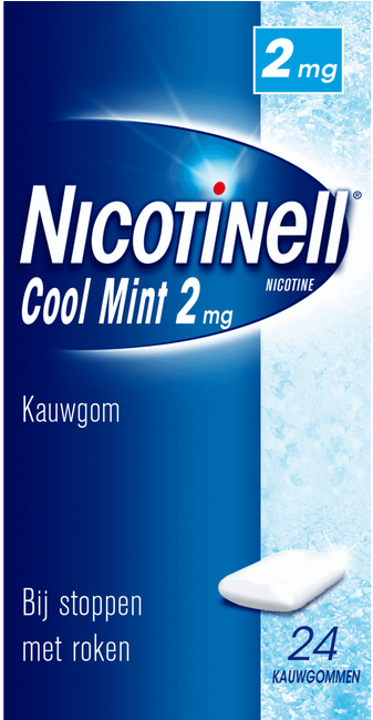 Nicotinell Cool Mint Kauwgom kopen