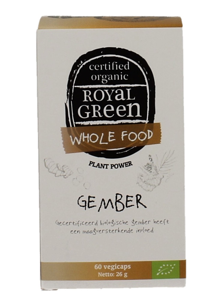Royal Green Ginger Thee kopen