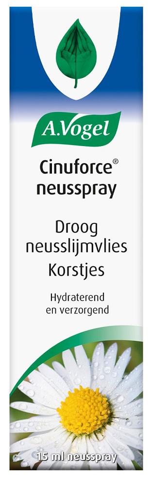 A.Vogel Cinuforce Neusspray Droog Neusslijmvlies & Korstjes kopen
