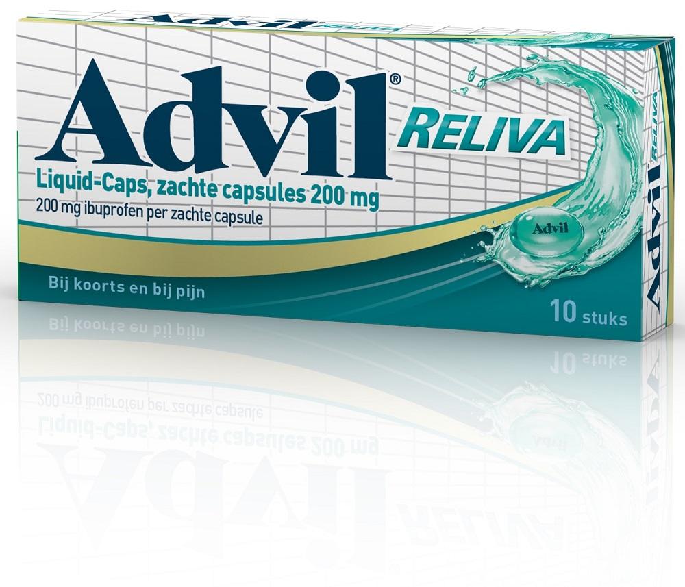 Advil Reliva Liquid-Caps 200mg kopen