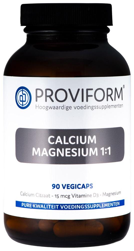 Proviform Calcium Magnesium 1:1 & D3 V- Capsules 90st kopen