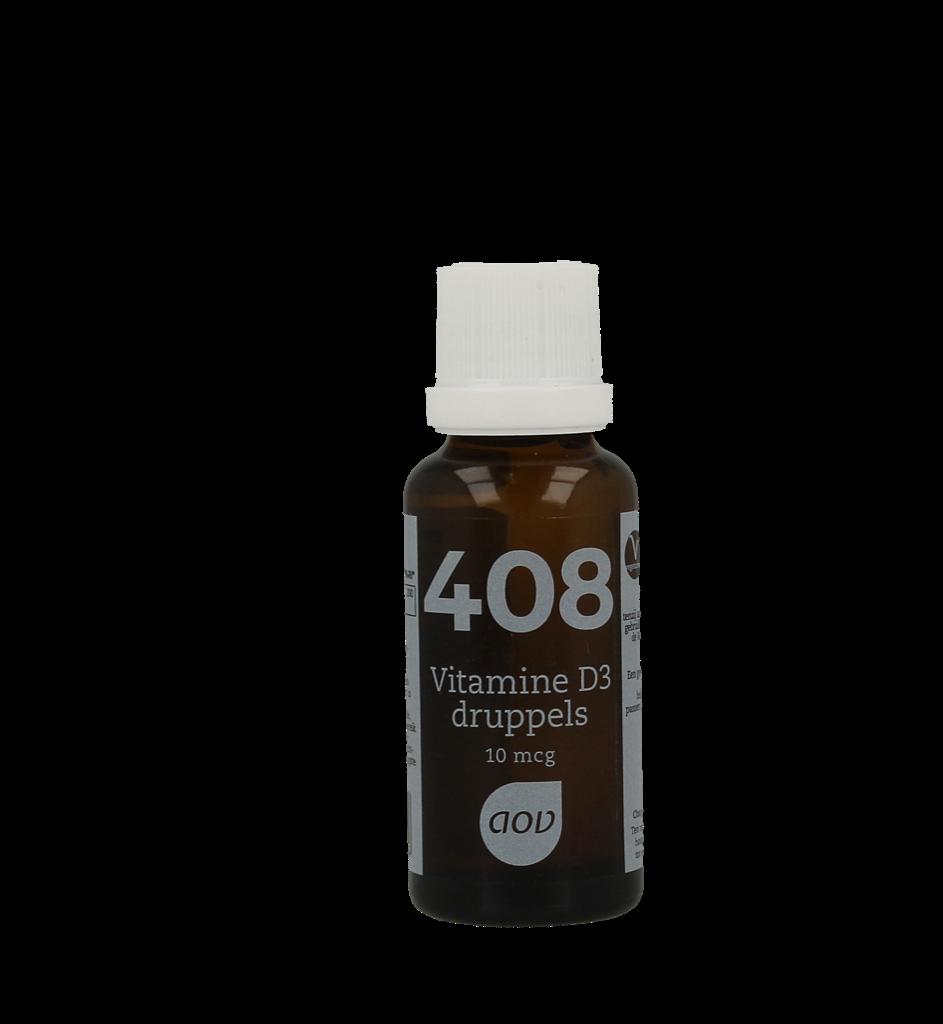 AOV 408 Vitamine D3 Druppels 25ml kopen