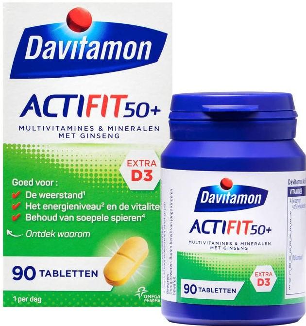 Davitamon Actifit 50 Plus Tabletten kopen
