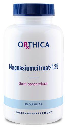 Orthica Magnesiumcitraat-125 Capsules kopen