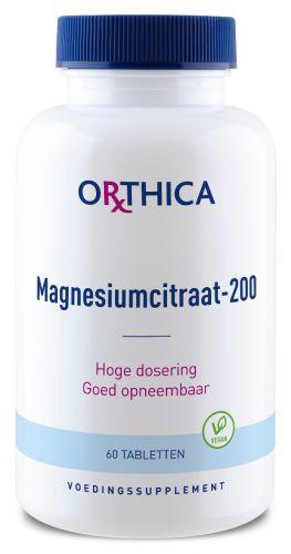 Orthica Magnesiumcitraat-200 Tabletten kopen