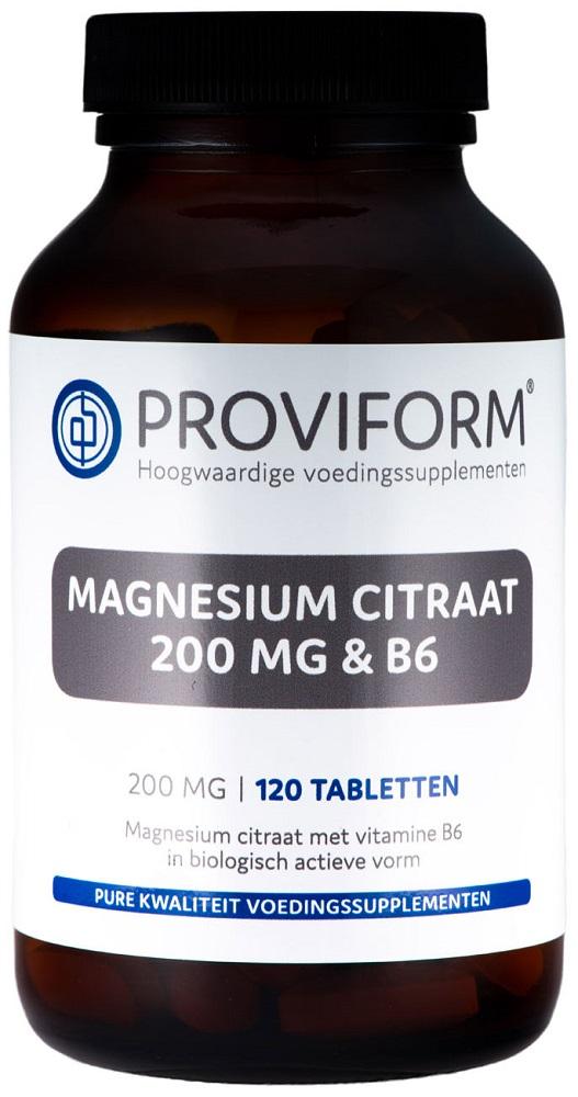 Proviform Magnesiumcitraat 200mg Tabletten 120st kopen