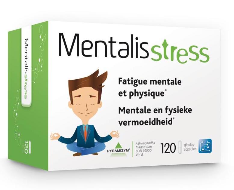 Trenker Mentalis Stress Capsules 120st kopen