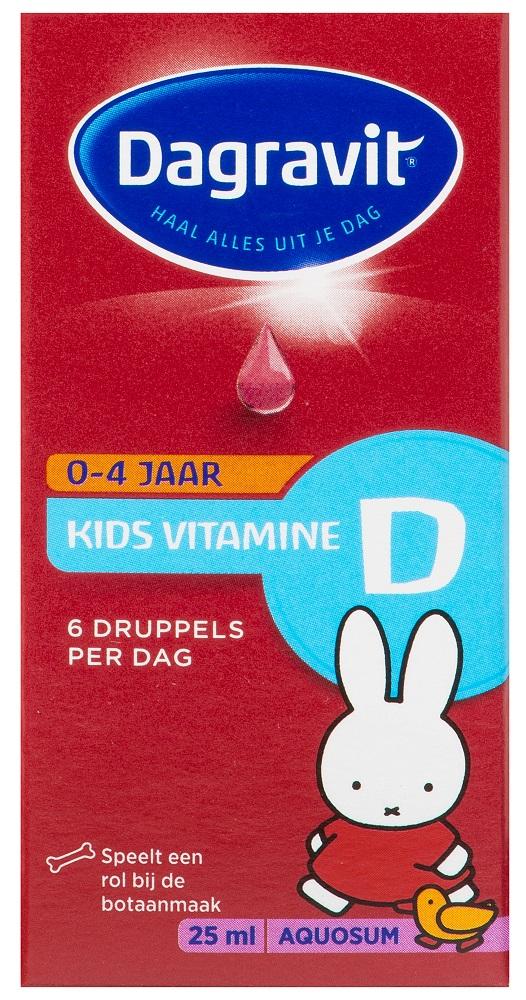 Dagravit Vitamine D Kids Aquosum Druppels kopen