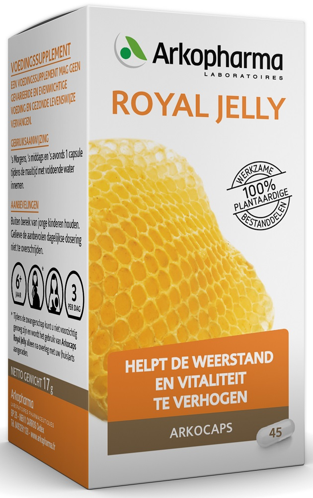 Arkocaps Royal Jelly Capsules 45st kopen