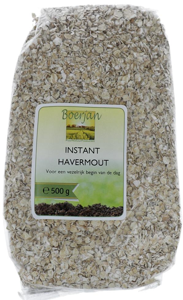 Boerjan Havermout Instant Bio 500gr kopen