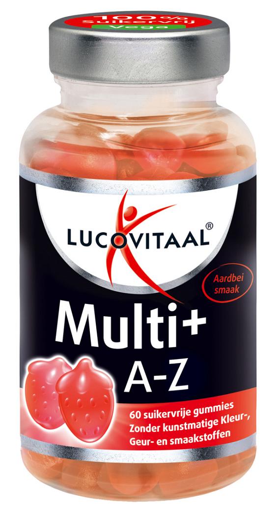 Lucovitaal Multi+ A-Z Gummies kopen