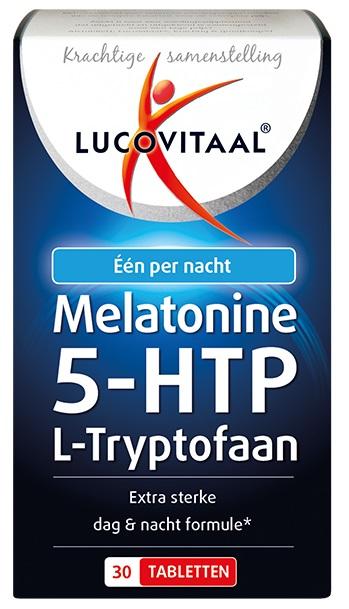 Lucovitaal Melatonine 5-HTP L-Tryptofaan Tabletten kopen