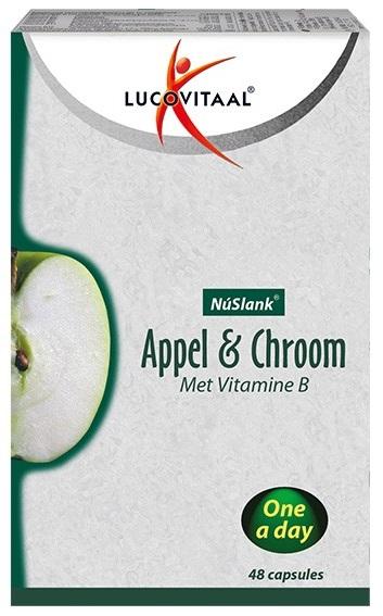Lucovitaal NuSlank Appel & Chroom Capsules kopen