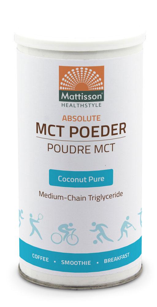 Mattisson HealthStyle MCT Poeder Coconut Pure kopen