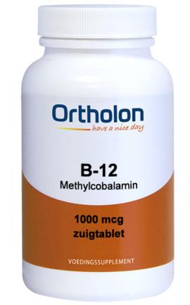 Ortholon B12 1000mcg Methylcobalamine Zuigtabletten kopen