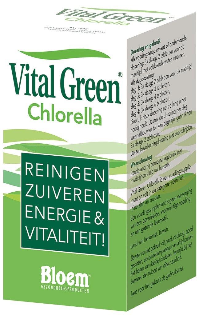 Vital Green Chlorella Tabletten kopen