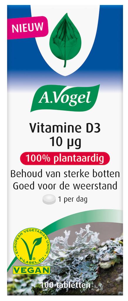 A.Vogel Vitamine D3 10 ?g Tabletten kopen