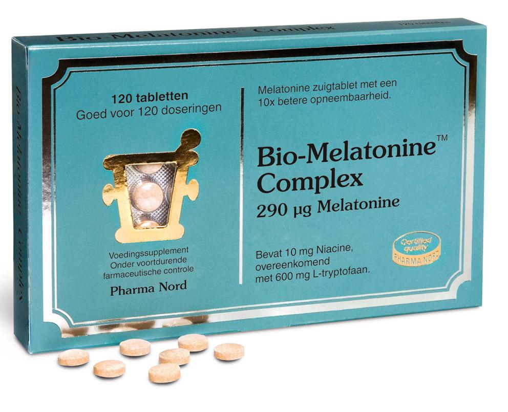 Bio-Melatonine Complex 290 mcg Zuigtabletten kopen