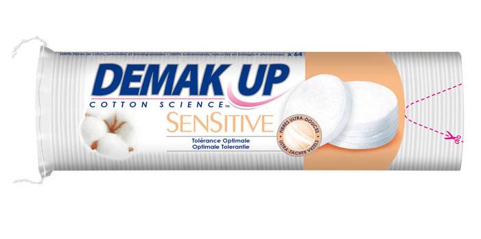 Demak Up Sensitive Silk Rond Wattenschijfjes 64st kopen