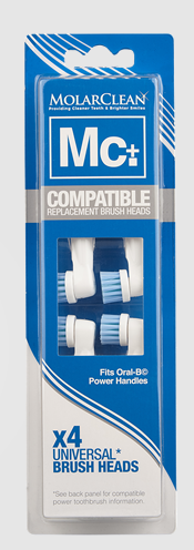 MolarClean Replacement Brush Heads Oral-B kopen