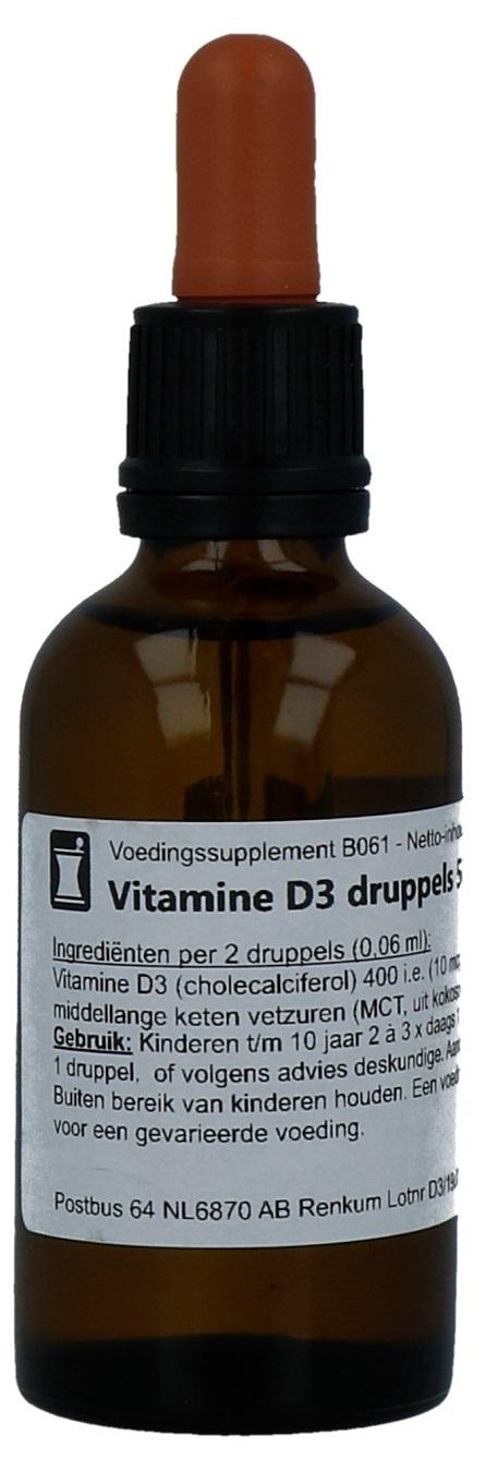 Biovitaal Vitamine D3 Druppels kopen