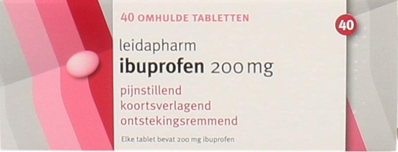 Healthypharm Ibuprofen HTP 400mg Tabletten kopen
