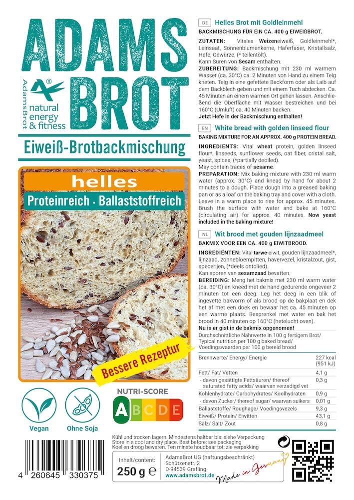 Adams Brot Broodmix Helles kopen