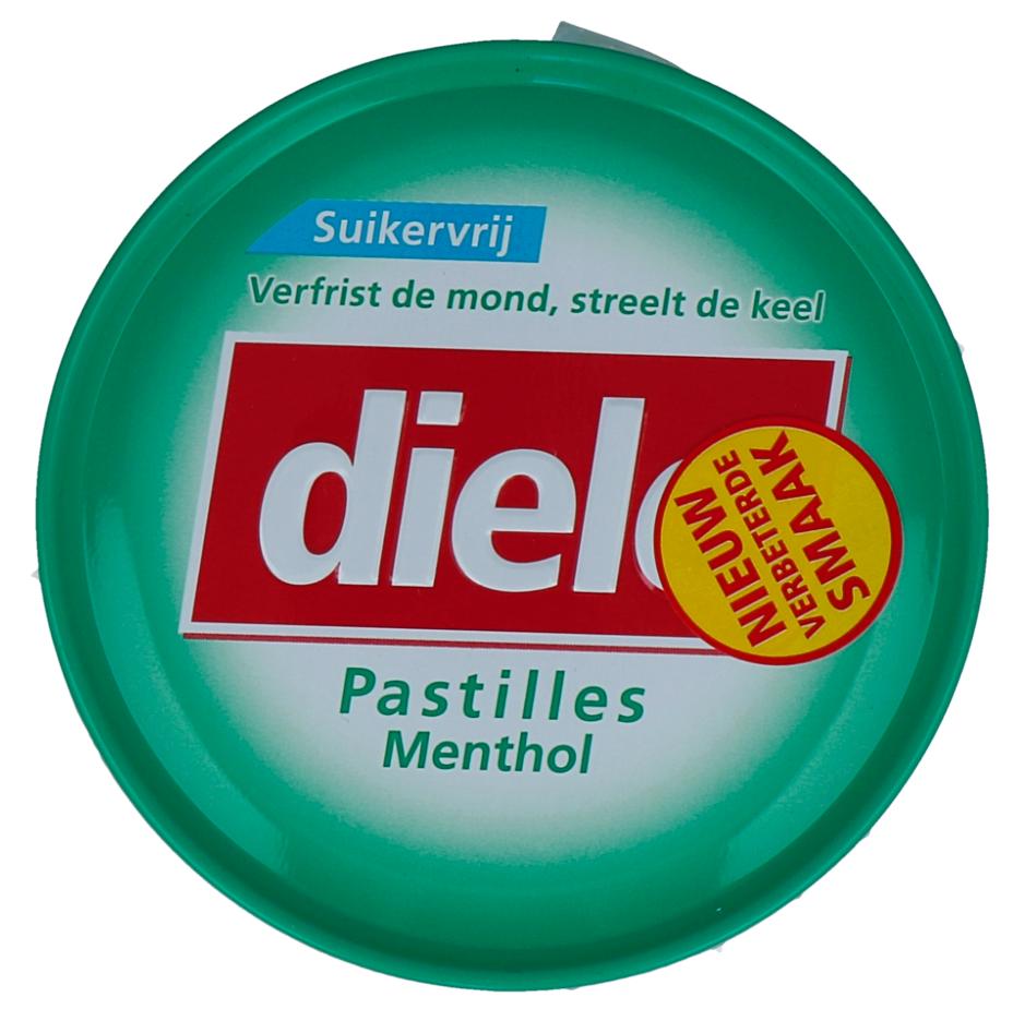 Diele Pastilles Groen Menthol Suikervrij kopen