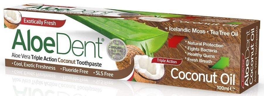 AloeDent Aloe Vera Triple Action Coconut Tandpasta kopen