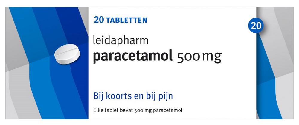 Leidapharm Paracetamol 500mg 20st kopen