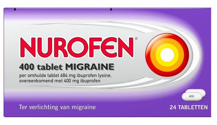 Nurofen Migraine 400mg Tabletten kopen